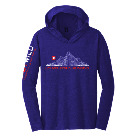 US MOUNTAIN RUNNING LONG SLEEVE HOODIES