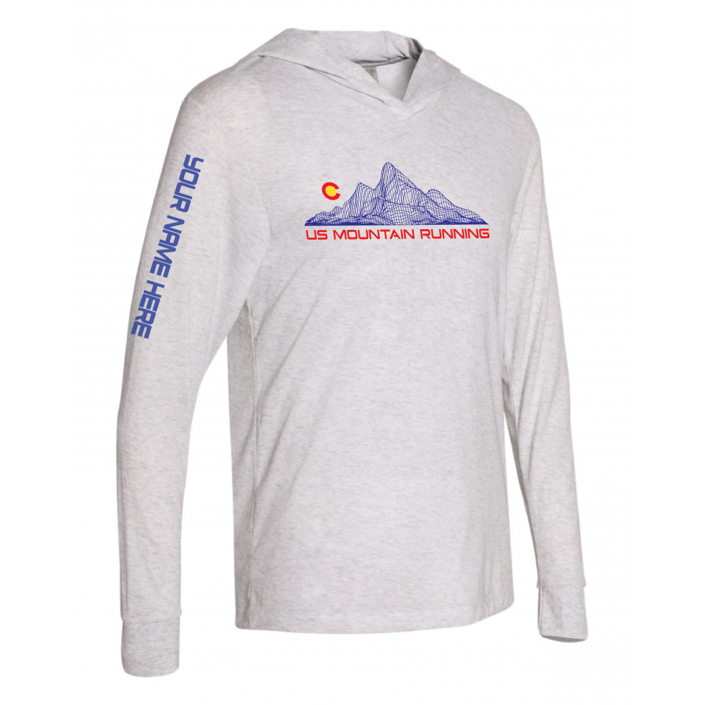 US MOUNTAIN RUNNING CUSTOM HOODIE