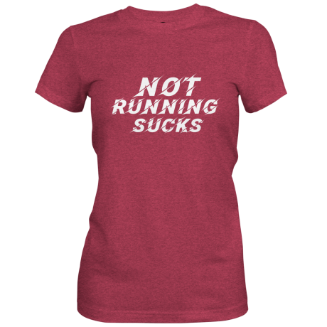 WOMEN'S NOT RUNNING SUCKS T-SHIRT
